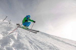 Skifahren in der Nähe vom Ferienhotel Sunshine