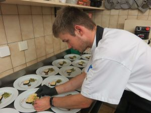 Juniorchef Martin Tiefnig