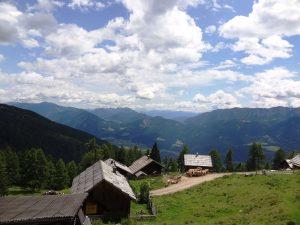 Wanderwege im Drautal (Oberberger Alm)