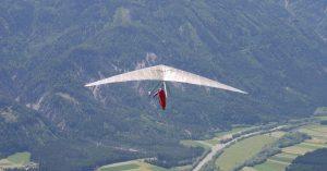 Drachenfliegen auf der Emberger Alm