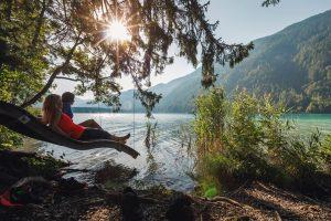 Am Weissensee baden und entspannen