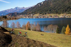 Weissensee im Herbst mit Bikespaß